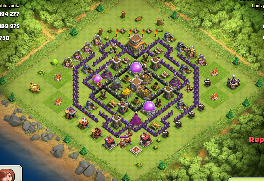 First th8 layout welcome to clashgods